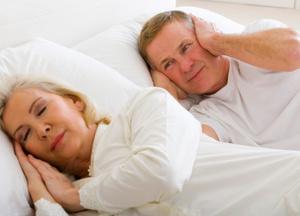 snoring sleep disruption